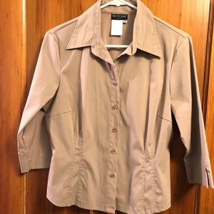 Bay Studio Taupe Blouse